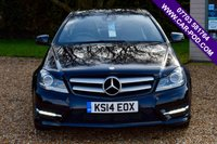 USED 2014 14 MERCEDES-BENZ C-CLASS 2.1 C220 CDI AMG SPORT EDITION PREMIUM PLUS 2d 168 BHP PAN ROOF, NAV, HEATED SEATS! FULL SERVICE HISTORY AND NEW MOT!