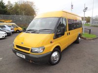 2006 FORD TRANSIT 2.4 430E 115 BHP - 17 SEAT MINIBUS - DIRECT LOCAL COUNCIL £3995.00