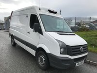 USED 2015 65 VOLKSWAGEN CRAFTER 2.0 CR35 TDI H/R P/V 107 BHP -18 DEGREES FRIDGE STANDBY