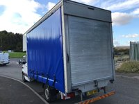USED 2014 63 MERCEDES-BENZ SPRINTER 2.1 313 CDI LWB 129 BHP 14FT 6 X 8FT HIGH CURTAINSIDE