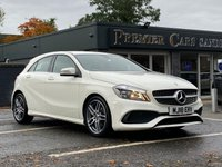 USED 2018 18 MERCEDES-BENZ A CLASS 1.6 A 180 AMG LINE 5d 121 BHP