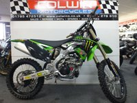 USED 2009 KAWASAKI KX250F MOTOCROSS ONLY 40 HOURS OF USE!!!