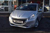 USED 2013 13 PEUGEOT 208 1.4 ACTIVE HDI 5d 68 BHP FINANCE TODAY WITH NO DEPOSIT