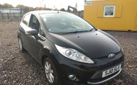 USED 2010 10 FORD FIESTA 1.4 ZETEC TDCI 5d 68 BHP LONG MOT UNTIL 07/2020, GOOD SERVICE HISTORY, JUST BEEN SERVICED, AIR CONDITIONING, ALLOY WHEELS, CD PLAYER, BLUETOOTH!