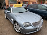 USED 2004 04 CHRYSLER CROSSFIRE 3.2 V6 2d AUTO 215 BHP