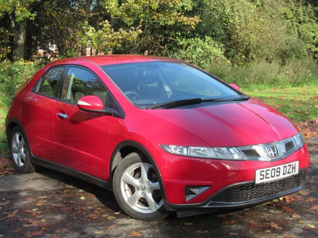USED 2009 09 HONDA CIVIC 1.3 I-VTEC SE 5d 98 BHP FANTASTIC VALUE FOR MONEY FAMILY CAR