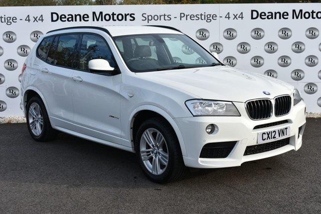 2012 12 BMW X3 2.0 XDRIVE20D M SPORT 5d 181 BHP SATNAV