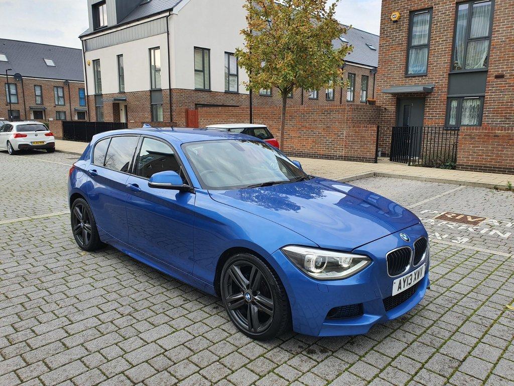 USED 2013 13 BMW 1 SERIES 2.0L 118D M SPORT 5d AUTO 141 BHP Xenons, Rear Camera, 18 Alloys, WARRANTY, NEW MOT, FINANCE