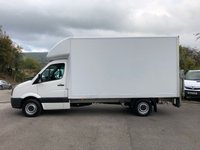 USED 2015 65 VOLKSWAGEN CRAFTER CR35 LWB 13'6 LUTON TAIL LIFT 136BHP *NEW MOT AND SERVICE WITH SALE*
