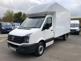 2015 VOLKSWAGEN CRAFTER CR35 LWB 13'6 LUTON TAIL LIFT 136BHP £10750.00