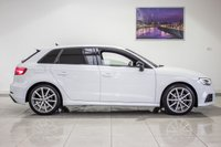 USED 2018 18 AUDI A3 1.5 TFSI BLACK EDITION 5d AUTO 150 BHP First MOT Due June 2021 & Just Been Serviced