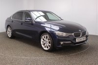 USED 2014 64 BMW 3 SERIES 2.0 320D LUXURY 4DR AUTO 184 BHP FULL BMW SERVICE HISTORY + £30 12 MONTHS ROAD TAX + HEATED LEATHER SEATS + SATELLITE NAVIGATION + PARKING SENSOR + BLUETOOTH + CRUISE CONTROL + MULTI FUNCTION WHEEL + DAB RADIO + PRIVACY GLASS + RADIO/CD/AUX/USB + ELECTRIC WINDOWS + ELECTRIC MIRRORS + 18 INCH ALLOY WHEELS