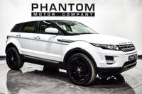 USED 2012 12 LAND ROVER RANGE ROVER EVOQUE 2.2 SD4 PURE 5d AUTO 190 BHP