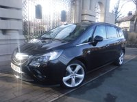 USED 2012 12 VAUXHALL ZAFIRA TOURER 1.4 ELITE S/S 5d 138 BHP *FINANCE ARRANGED*PART EXCHANGE WELCOME*FULL LEATHER*PANORAMIC ROOF*1 OWNER*FULL VAUXHALL SERVICE HISTORY*