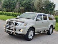 2012 TOYOTA HI-LUX 3.0 INVINCIBLE 4X4 D-4D DCB 169 BHP £11950.00