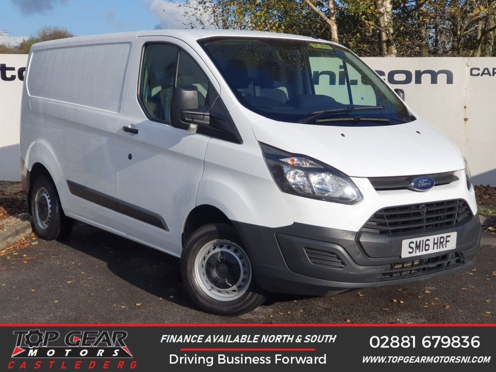 USED 2016 16 FORD TRANSIT CUSTOM 290 2.2 100 BHP L1 H1**CHOOSE FROM OVER 90 VANS**