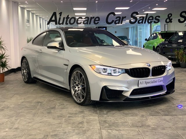 2017 66 BMW M4 3.0 M4 COMPETITION PACKAGE 2d AUTO 444 BHP