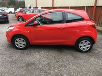 USED 2014 14 FORD KA 1.2 EDGE 3d 69 BHP Only £30 Tax & 27,000 Miles, 2 Private Owners, Service History, 12 Mths Mot, Low Insurance Group !!!