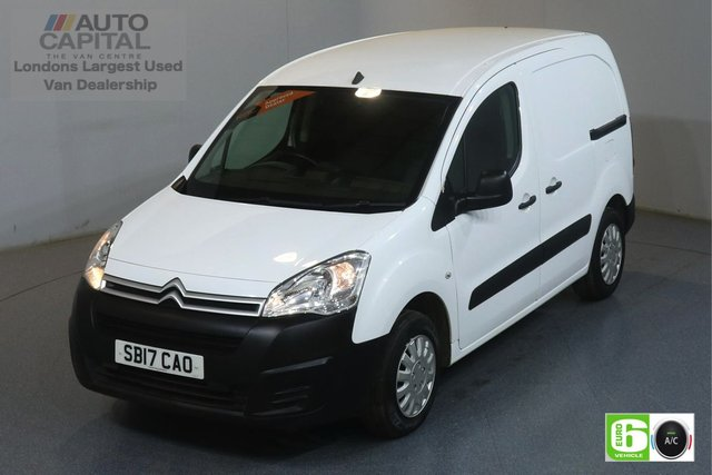 2017 17 CITROEN BERLINGO 1.6 625 ENTERPRISE BLUEHDI SWB 74 BHP EURO 6 ENGINE AIR CON, REAR PARKING SENSORS, CRUISE CONTROL