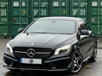 USED 2013 63 MERCEDES-BENZ CLA 2.1 CLA200 CDI AMG Sport 7G-DCT 4dr Bi-Xenons/LED/Park-Assist