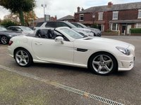 USED 2014 14 MERCEDES-BENZ SLK 2.1 SLK250 CDI BlueEFFICIENCY AMG Sport 7G-Tronic Plus (s/s) 2dr MERCEDES SERVICE HISTORY