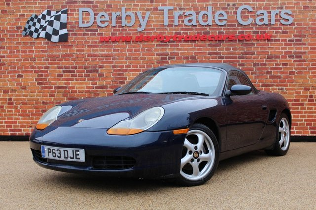PORSCHE BOXSTER at Derby Trade Cars