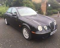 2006 JAGUAR S-TYPE 3.0 SE V6 4d AUTO 240 BHP £1999.00