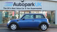 USED 2008 58 MINI HATCH COOPER 1.6 COOPER 3d AUTO 118 BHP LOW DEPOSIT OR NO DEPOSIT FINANCE AVAILABLE
