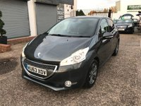 USED 2013 63 PEUGEOT 208 1.6 E-HDI ALLURE 5d 92 BHP FULL MAIN DEALER HISTORY-6 STAMPS-ZERO £££ ROAD TAX-DAB RADIO-BLUETOOTH-1 FORMER KEEPER