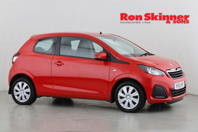 View our 2016 16 PEUGEOT 108 1.0 ACTIVE 3d 68 BHP
