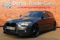 USED 2013 63 BMW 1 SERIES 2.0 120D M SPORT 5d 181 BHP