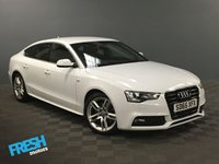 USED 2015 65 AUDI A5 1.8 SPORTBACK TFSI S LINE 5d  * 0% Deposit Finance Available