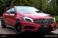 USED 2015 15 MERCEDES-BENZ A CLASS 2.0 A45 AMG 7G-DCT 4MATIC 5dr COMMAND+PAN ROOF+AERO KIT
