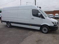 2016 MERCEDES-BENZ SPRINTER 313 CDI LWB HI ROOF CHILLER, 130 BHP [EURO 5]