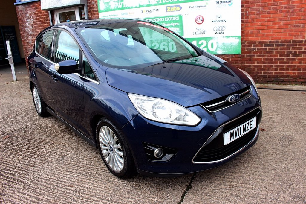USED 2011 11 FORD C-MAX 2.0 TITANIUM TDCI 5d 138 BHP +SONY RADIO +KEYLESS +SERVICED