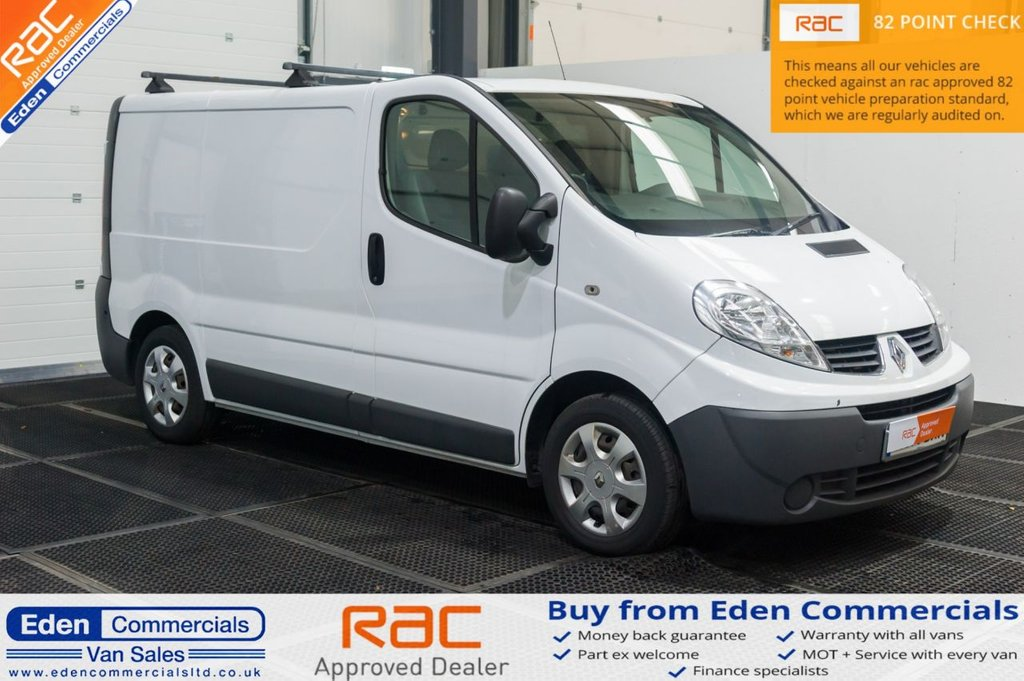 USED 2014 14 RENAULT TRAFIC 2.0 SL27 DCI S/R 90 BHP * WINDOW CLEANING VAN *