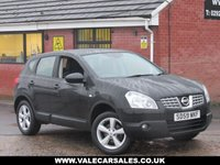 USED 2009 59 NISSAN QASHQAI 1.5 DCI ACENTA (BLUETOOTH) 5dr LOW MILEAGE WITH ONLY 82,000 MILES AND BLUETOOTH