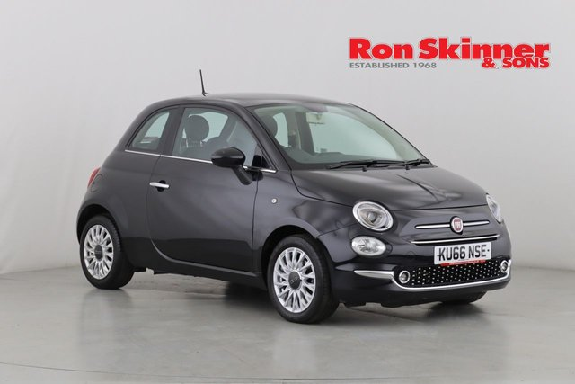 View our 2016 66 FIAT 500 0.9 TWINAIR LOUNGE 3d 105 BHP