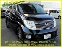USED 2008 58 NISSAN ELGRAND Highway Star 3.5 Automatic 8 Seats,  +62K+SPORTS EXHAUST+ALLOYS+