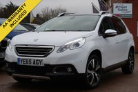 USED 2015 65 PEUGEOT 2008 1.6 BLUE HDI S/S FELINE MISTRAL 5d 120 BHP PANORAMIC ROOF, NAVIGATION + FULL LEATHER