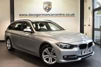 USED 2013 13 BMW 3 SERIES 1.6 316I SPORT TOURING 5DR 135 BHP full service history Finished in a stunning glacier metallic silver styled with alloys. Upon opening the drivers door you are presented with cloth upholstery, full service history, bluetooth, dab radio, cruise control, Multifunction steering wheel, Sports seats, Fog lights, Rain sensors, Automatic air conditioning, parking sensors