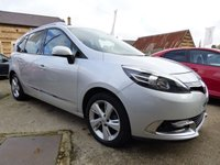 USED 2014 64 RENAULT GRAND SCENIC 1.5 DYNAMIQUE TOMTOM ENERGY DCI S/S 5d 110 BHP FULL RENAULT SERVICE HISTORY SEVEN SEATER & ONLY £20 A YEAR TO TAX