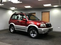 USED 2003 03 SUZUKI GRAND VITARA 1.6 16V SE 3d AUTO 92 BHP four wheel drive