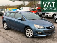 USED 2014 VAUXHALL ASTRA Sports Tourer 1.3 Cdti 16v Ecoflex Design 5dr Start Stop Direct From Ministry of Defence, Only 62,000 Miles, Air Con.