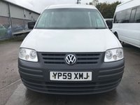 USED 2009 59 VOLKSWAGEN CADDY MAXI C20 TDI 104PS MAXI LWB **NO VAT**GOOD SPEC**