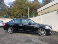USED 2011 11 MERCEDES-BENZ E CLASS 2.1 E220 CDI BLUEEFFICIENCY SPORT 4d AUTO 170 BHP