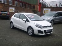 USED 2015 15 KIA RIO 1.2 VR7 5d 84 BHP * BLUETOOTH & AIR CON *