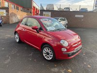 USED 2015 65 FIAT 500 1.2 POP STAR 3d 69 BHP * only 30k miles *