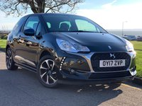 USED 2017 17 DS DS 3 1.2 PURETECH ELEGANCE S/S 3d 109 BHP NO DEPOSIT FINANCE AVAILABLE