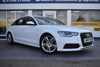 USED 2013 63 AUDI A6 2.0 TDI S LINE 4d 175 BHP NO DEPOSIT FINANCE AVAILABLE